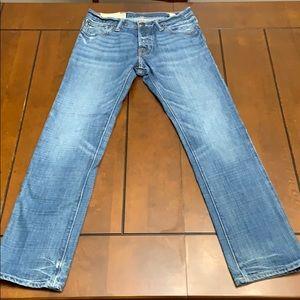 Abercrombie & Fitch denim jeans, size 28